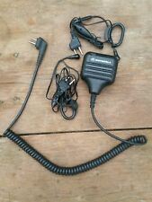 Speaker MIC Microphone and 2 head sets for Motorola SP10 Radio