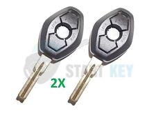2X BMW fernbedienung Schlüssel Gehäuse E39 E38 E46 E36 Z3 Z8 HU58 Oval Rohling