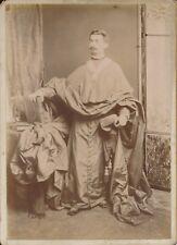 Cabinet c. 1900 - Costume Homme d'Église Religieux - 1248