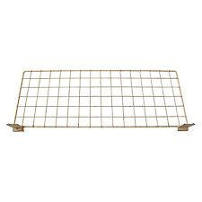 Slatboard Wire Rack Shelf. Slatwall Display Retail Shelving Slat wall grid board