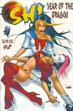 SHI: YEAR OF THE DRAGON #2 VG/Fi (Crusade, 2000) Original Comic Book