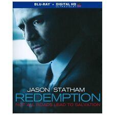REDEMPTION BLU RAY MOVIE JASON STATHAM VICKY MCCLURE W/SLIPCOVER NO DIGITAL COPY