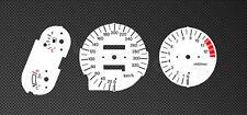 Honda CBR1100XX  Tachoscheiben Tacho CBR 1100 XX Gauge 99-06 dial Ziffernblätter