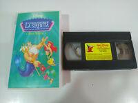 La Sirenita ¡ Vaya Manta ! Walt Disney - VHS Cinta Castellano