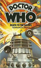 Paperback Book - DOCTOR WHO - Death to The Daleks - Terrance Dicks - #20