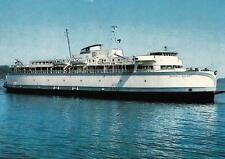 Old Photo. Canada. Ferry between Vancouver Island & British Columbia