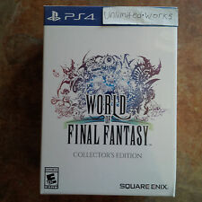 World of Final Fantasy: Collector's Edition PlayStation 4 Brand New. Sealed. PS4