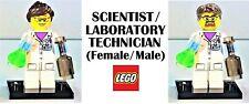 LEGO Custom SCIENTIST / LABORATORY TECHNICIAN Sets **NEW**