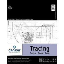 """Canson Artist Series Tracing Paper Pads - 11x14""""  - 11X14"""""""