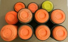 Clay Trap/Skeet Orange Dome Shooting Targets,White Flyer,Blue Rock,Nos Lot of 80