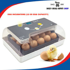 New listing Digital Egg Incubator 12-35 Egg Hatcher hine Automatic Chicken Poultry Farm