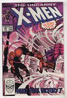 Uncanny X-Men #247 (Aug 1989 Marvel) [Sentinel] Chris Claremont Marc Silvestri X