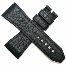 Authentic WYLER Genève CODE R 27.5 mm genuine leather watch strap