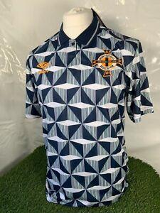 Retro Northern Ireland Away shirt Football Jersey 1990-93 BNWT Size XL