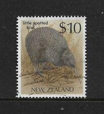 NEW ZEALAND 1989 Bird, $10 Little Spotted Kiwi, No.2, used