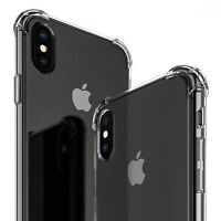 Ultra Thin Soft Transparent TPU Case For iPhone 8 7 6 Clear Silicone Full Cover
