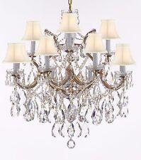 Swarovski Crystal Trimmed Maria Theresa Chandelier Lights Pendant Ceiling Lamp