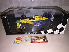 1 18 Minichamps Benetton Ford B191 Schumacher 1991