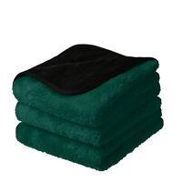 3 Pcs 1200 GSM Premium Plush Microfiber Towel Pro car Wash Drying Cleaning
