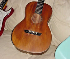 VINTAGE WASHBURN PARLOR GUITAR TONK BROS CO 1928  MARTIN STRINGS
