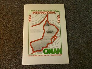 Oman Automobile Association 1984 International Rally FISA Middle East Rally Cham