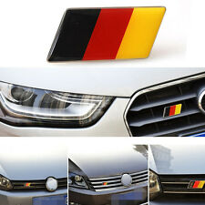 Aluminum Germany Flag Front Emblem Badge Grill Grille for Golf Jetta A3 A4 A5 A6