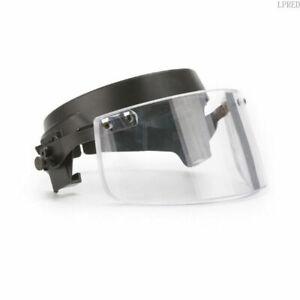 Ballistic Visor Detachable for Bulletproof Helmet NIJ IIIA Level Safety Hard Hat