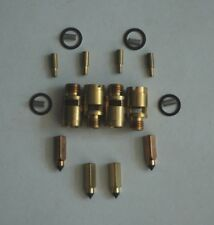 CARTER SUPERCHARGED CARTER YH 1 BARREL SPRING BRASS LOADED NEEDLE & SEAT 4 PIECE