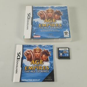 Age of Empires the Age of Kings Nintendo DS Strategy Video Game Manual PAL