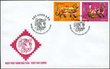 987 Vietnam Year of the Tiger 2010 FDC (Ha Noi post mark)