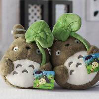Ghibli My Neighbor Totoro Plush Doll Toy Birthday Taking Leaf Sofa 25cm/9.8in