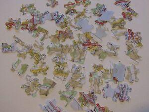 200 Travel Wedding jigsaw Map Table Confetti Ivory Bride & Groom Custom colours