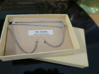 Vintage Tie clip, Made in England, in original Box, silver tone