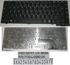 Teclado Qwerty UK FUJITSU SIEMENS AMILO M6450G K021327K1 UK 71GUJ2082-00 Negro