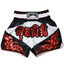 New Lumpinee Muay Thai Shorts Boxing Shorts Retro Diamond Red/White Thai Boxing