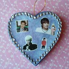 SHINEE Jonghyun Handmade Paper Mache Heart Shaped Ornament Kpop - FOR CHARITY