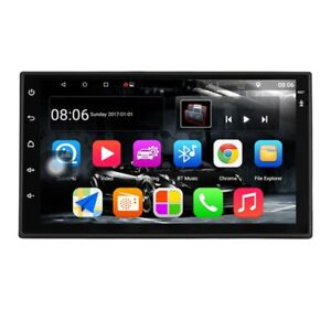 Android 7.1 Car Stereo 7 Inch 1024x600 1080P Quad Core 2Din Android Head Un X7O4