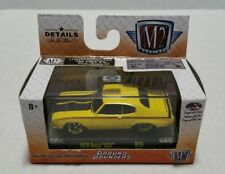 Rare M2 Machines Ground Pounders 1970 Buick GSX Chase Yellow 1 Of 750