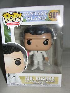 Funko Pop Television Fantasy Island Mr. Roarke Vinyl Figure-New