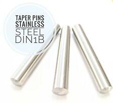 Taper pins DIN1B Stainless Steel 1/50 Taper