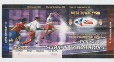Orig.Ticket   16.11.2003   POLEN - SERBIEN und MONTENEGRO   !!    SELTEN