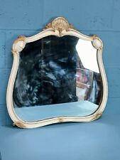 Victorian Painted Mirror, French (CH038)
