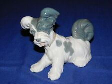 Lladro Skye Terrier Dog Figurine Made in Spain