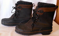KHOMBU leather WINTER Boot & LINERS sz 13 mens leather G103