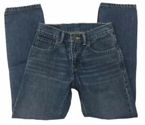 "Levi Strauss & Co 511 Boys Size 14 Regular 27 x 27"" Medium blue wash Red Tab"