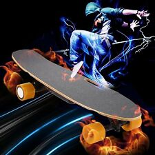 "Electric Skateboard 28"" Portable Motorized Penny Board Wireless Remote UL Listed"