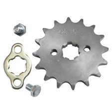 428 16T 17mm Chain Front Sprocket Cog Metal Plate For Motorcycle Dirt Pit Bike