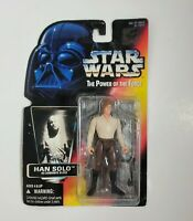 Star Wars Power of The Force Han Solo IN Carbonite Figure