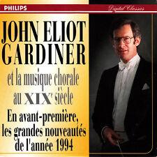 John Eliot Gardiner CD John Eliot Gardiner Et La Musique Chorale Au XIXe Siècle