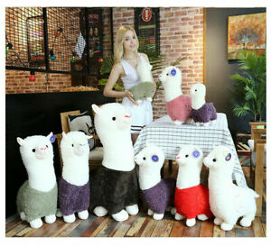 Kawaii Alpacasso Llama Alpaca Pillow Stuffed Soft Plush Kids Toy Doll Cute//